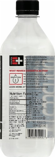 Essentia Alkaline Purified Water Perspective: right