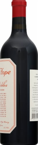 Austin Hope Paso Robles Cabernet Sauvignon Perspective: right