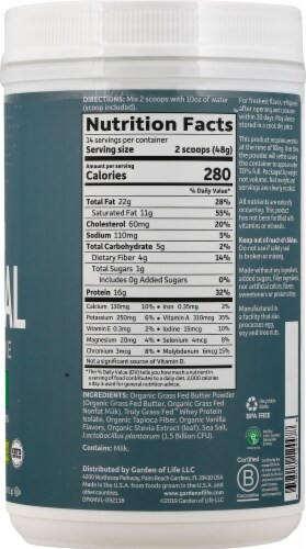 Garden of Life Dr Formulated Vanilla Keto Meal Perspective: right