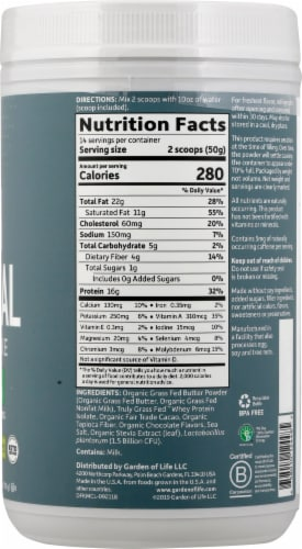 Garden of Life Dr Formulated Chocolate Keto Meal Perspective: right