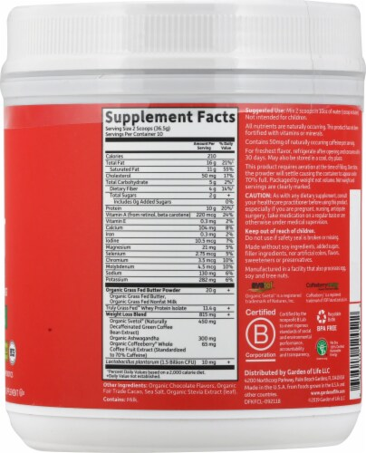 Garden of Life Dr Formulated Chocolate Keto Fit Perspective: right