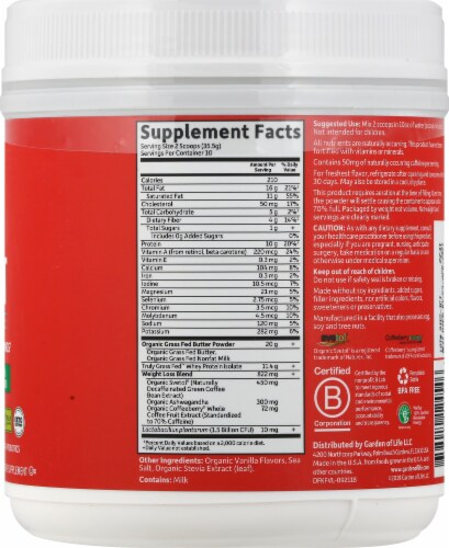 Garden of Life Dr Formulated Vanilla Keto Fit Perspective: right