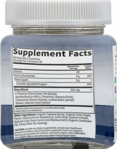 Garden of Life Dr Formulated Sleep Gummies Perspective: right