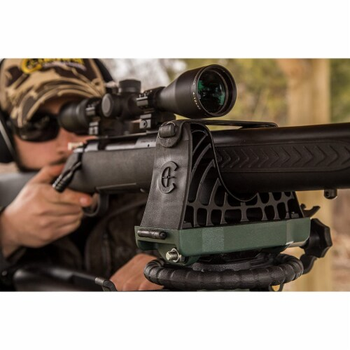 Caldwell Lead Sled 2 Outdoor Range Adjustable Ambidextrous Rifle Shooting Rest Perspective: right