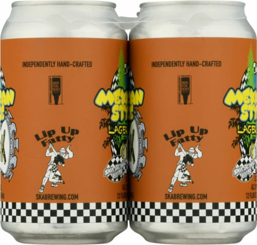 Ska Brewing Mexican Logger Lager Perspective: right