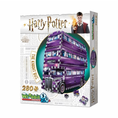 Wrebbit Harry Potter Collection The Knight Bus 3D Puzzle Perspective: right