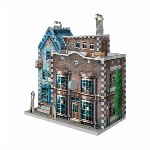 Wrebbit Harry Potter Daigon Alley Collection Ollivander's Wand Shop & Scribbulus 3D Puzzle Perspective: right