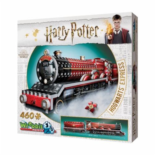 Wrebbit Harry Potter Collection Hogwarts Express 3D Puzzle Perspective: right