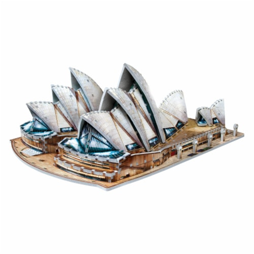Wrebbit Sydney Opera House 3D Puzzle Perspective: right