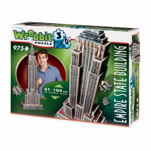 Wrebbit Empire State Building 3D Puzzle Perspective: right