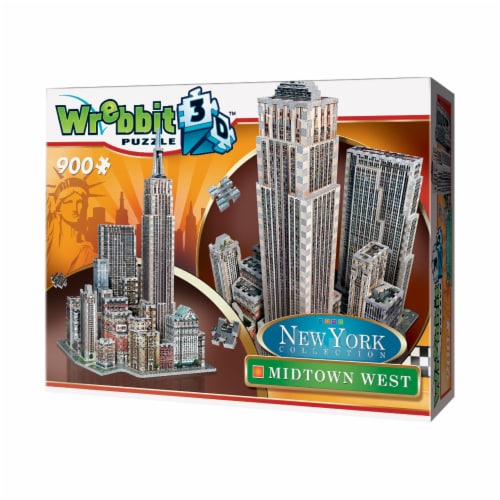 Wrebbit New York Collection Midtown West 3D Puzzle Perspective: right