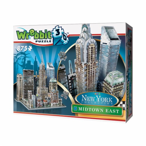 Wrebbit New York Collection Midtown East 3D Puzzle Perspective: right