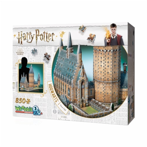 Wrebbit Harry Potter Collection Hogwarts Great Hall 3D Puzzle Perspective: right