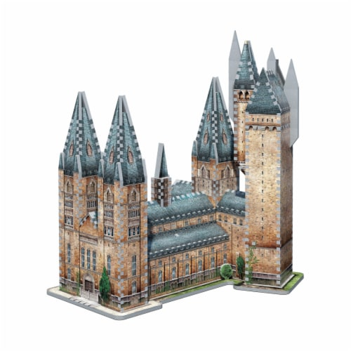 Wrebbit Harry Potter Collection Hogwarts Astronomy Tower 3D Puzzle Perspective: right