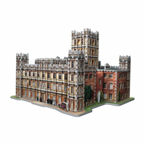 Wrebbit Downton Abbey 3D Puzzle Perspective: right