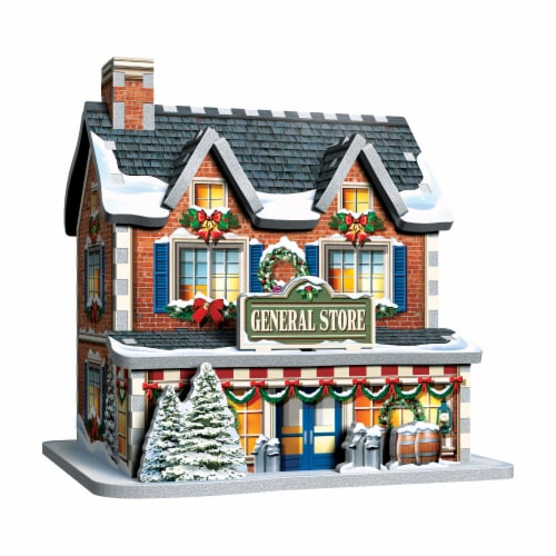 Wrebbit Christmas Village 3D Puzzle Perspective: right