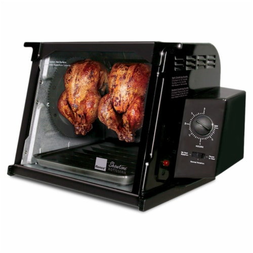 Ronco 4000 Series Rotisserie - Black Perspective: right