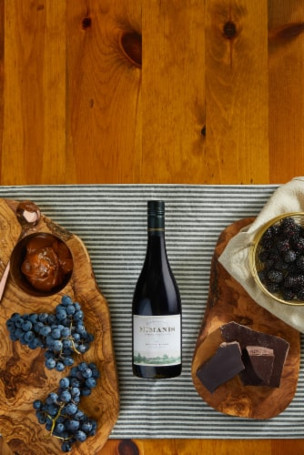 McManis Family Vineyards Petite Sirah Red Wine Perspective: right