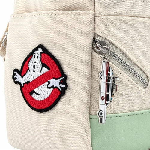 Loungefly Ghostbusters Cosplay Square Canvas Backpack Perspective: right