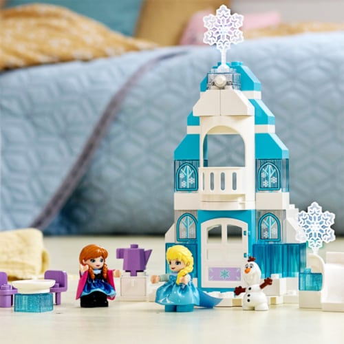 LEGO DUPLO 10899 Disney Frozen Ice Castle Building Kit 59 Pieces w/ 3 Figures Perspective: right