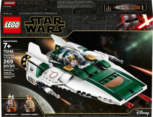 LEGO® Star Wars Resistance A-Wing Starfighter™ Perspective: right