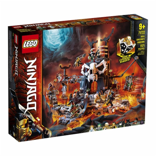 LEGO 71722 NINJAGO Skull Sorcerers Dungeons Playset and Board Game (1171 Pieces) Perspective: right