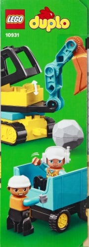 10931 LEGO® Duplo Truck & Tracked Excavator Perspective: right