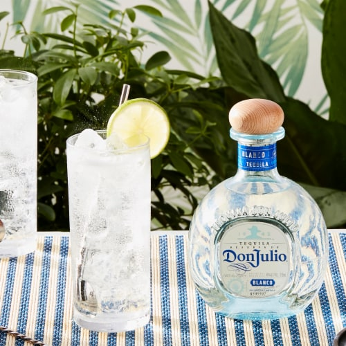 Don Julio Blanco Tequila Perspective: right