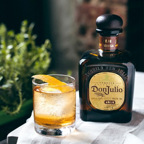 Don Julio Anejo Tequila Perspective: right