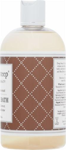 Deep Steep® Vanilla Coconut Bubble Bath Perspective: right