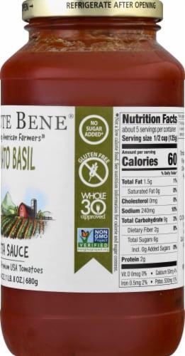 Monte Bene Tomato Basil Pasta Sauce Perspective: right