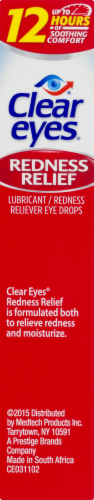 Clear Eyes Redness Relief Eye Drops Perspective: right