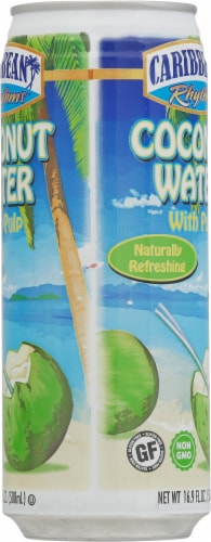 Caribbean Rythms Coconut Water with Pulp Perspective: right