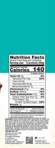 Glutino Gluten Free Fudge Covered Pretzels Perspective: right