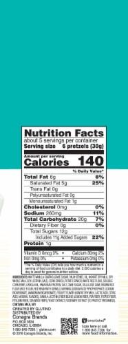Glutino Gluten Free Yogurt Covered Pretzels Perspective: right