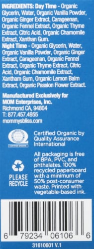 Mommy's Bliss Little Gums Organic Soothing Massage Gel Perspective: right