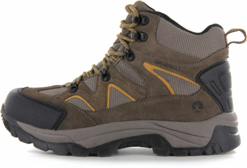 Northside Snohomish Men's Hiking Boots - Tan/Dark Honey Perspective: right