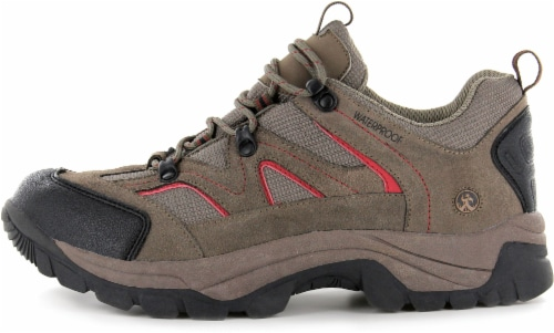 Northside Snohomish Low Men's Trail Shoes - Chili Pepper Perspective: right