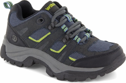 Northside Monroe Boys' Low Hiking Shoes - Blue/Green Perspective: right