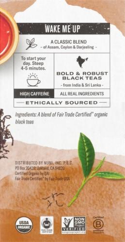 Numi Organic Breakfast Blend Tea Bags Perspective: right
