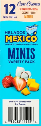 Helados Mexico Mini Ice Cream Bar Variety Pack Perspective: right