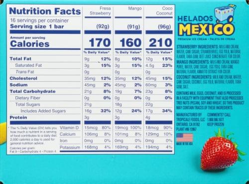 Helados Mexico Premium Ice Cream Bars Value Pack Perspective: right