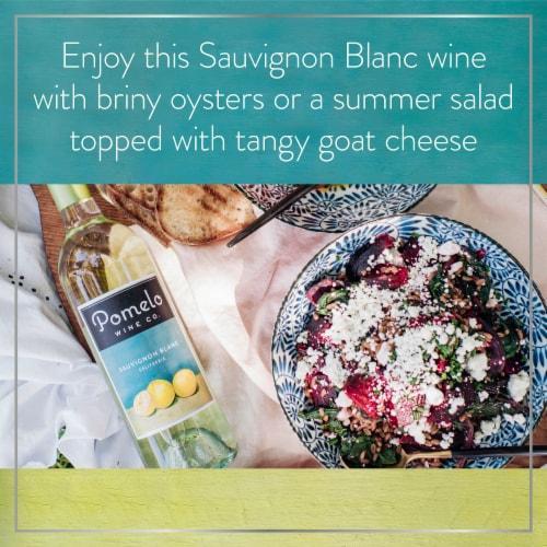 Pomelo Sauvignon Blanc White Wine Perspective: right