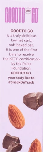 Good To Go Double Chocolate Soft Baked Keto Snack Bars Perspective: right