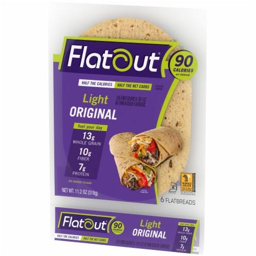 Flatout Light Original Flatbread 6 Count Perspective: right