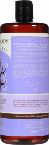 Dr. Woods Naturally Pure Lavendar Castile Soap Perspective: right