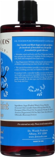 Dr. Woods Pure Peppermint Castile Soap Perspective: right