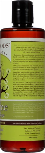 Dr. Woods Shea Vision Pure Castile Soap Tea Tree Perspective: right