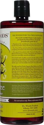 Dr. Woods Shea Vision Pure Tea Tree Castile Soap Perspective: right