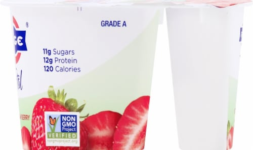 Fage Total 2% Milkfat Strawberry Greek Yogurt Perspective: right